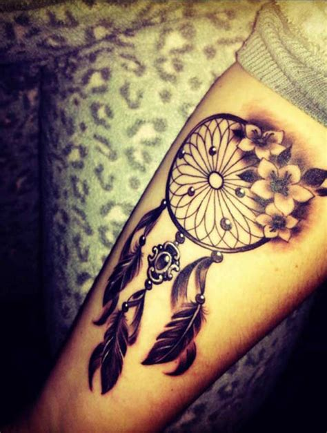 21 nice dreamcatcher tattoos designs