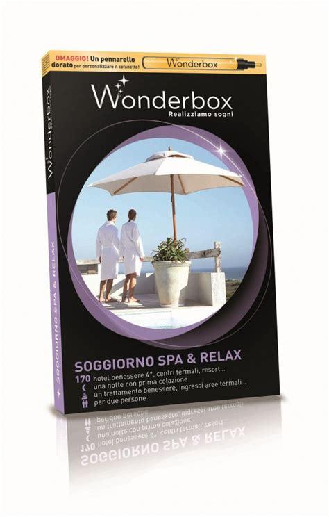 wonderbox soggiorno spa e relax scrivi la tua dedica personalizzata sul cofanetto