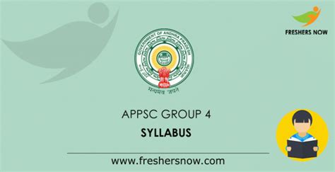 appsc group  syllabus  exam pattern