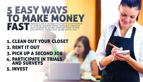 5 easy ways to make money fast makemoneyinlife