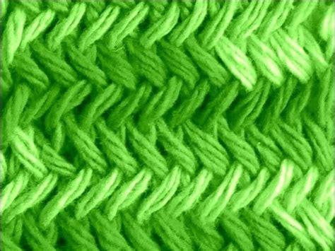 punto espiga como tejer punto espigas original herringbone stitch 2