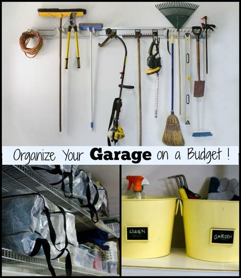 organizing garage on a budget 5 simple tips for your garage organize it on a budget