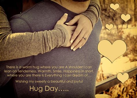 hug day quotes valentines hug day messages