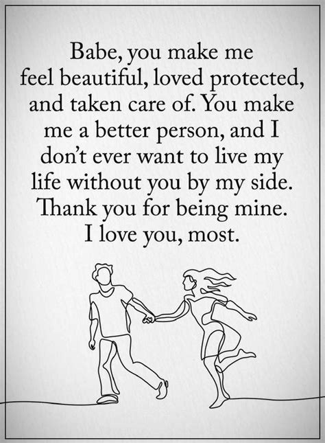 appreciation letter to him quotes for him you make me feel beautiful loved