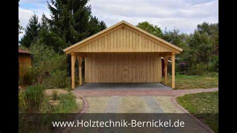 carport holzbau satteldach carport berlin holztechnik bernickel carport
