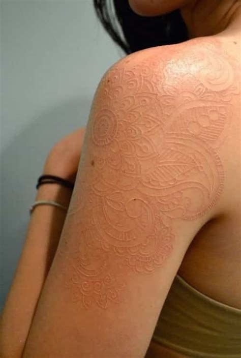skin color tattoo all you really want to about white ink tattoos