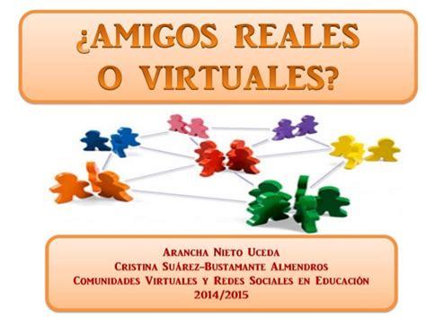 imagenes amigos virtuales amigos reales o virtuales