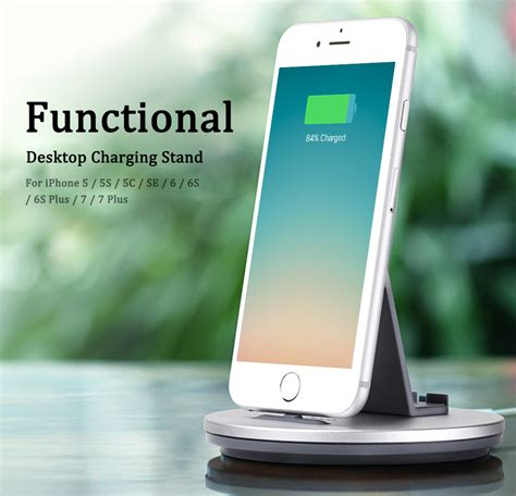 Harga Termurah Charging Stand Charging Dock For Apple Charger hoco desktop charging dock lightning for apple cw1 silver jakartanotebook