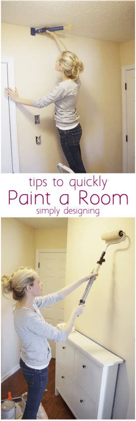 paint a room quickly tips to quickly paint a room