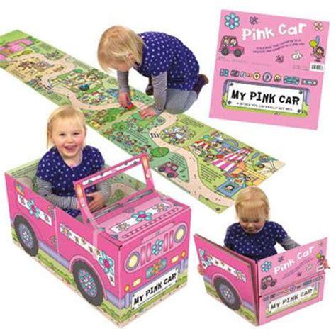 Pink Car Play Mat by Convertible Pink Car Large Play Mat Convertible Book