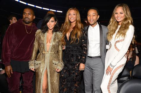beyonce and jay z insult kim kardashian and kanye west beyonce with kim kardashian and kanye west at the grammys