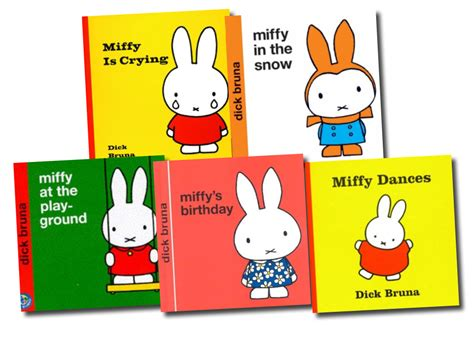 miffy classic library collection dick bruna 5 books set ebay