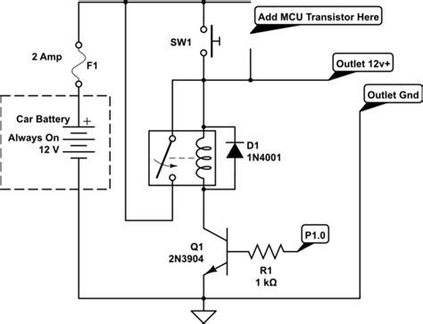 schematics correct   add high side transistor