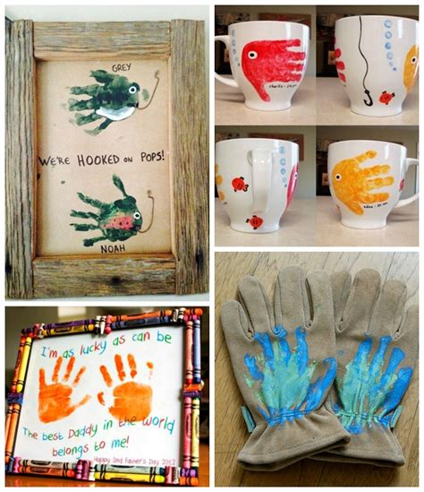 fathers day craft for s day handprint gift ideas from crafty morning