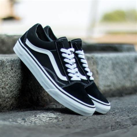 Sepatu Vans Authentic Black Dope Dtbnib 40 44 vans skool black footshop