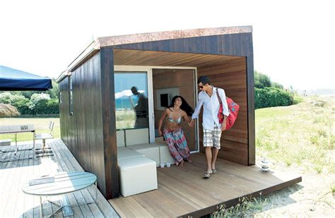 appliances luxurious wooden ecological prefab micro house