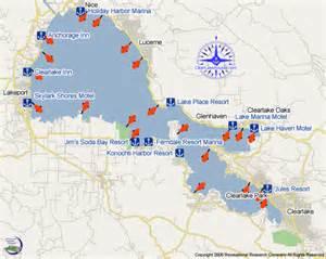 clear lake map california clear lake clear lake boating marinas boat rs