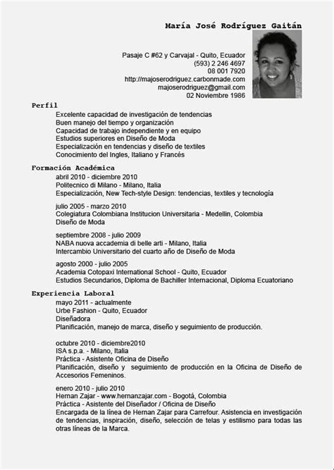 curriculum vuoto da stare pdf ejemplos de objetivos para resume formato de curriculum