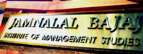 Jamnalal Bajaj Executive Mba Fees by Jamnalal Bajaj Institute Of Management Studies Fees