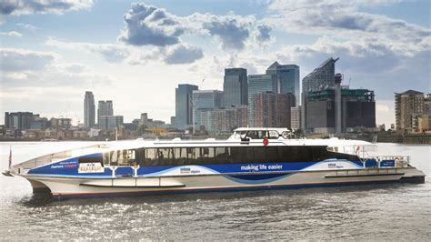 thames clipper new boats kids go free with family river roamer ticket from mbna