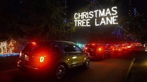 what are the dates for christmas tree lane in fresno tree injured when object thrown at vehicle the fresno bee