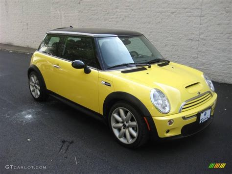 Mini Cooper Yellow by 2003 Liquid Yellow Mini Cooper S Hardtop 15781873