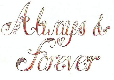 forever and always tattoo designs pes patch