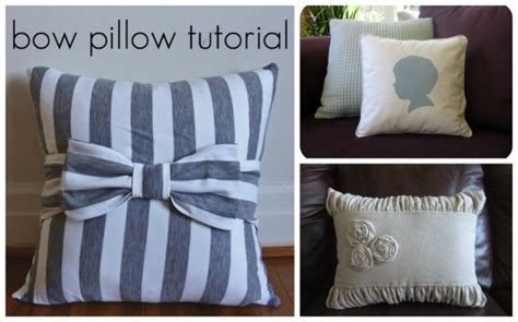 How To Make A Decorative Pillow by Diy Throw Pillows Sew What Posts Pillow