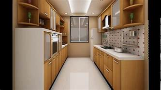 Indian parallel kitchen interior design   YouTube