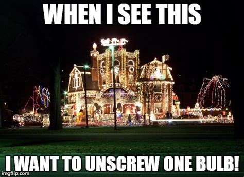 Christmas Lights Meme - funny christmas lights imgflip