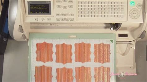 cricut place cards   gypsy multi page layers youtube