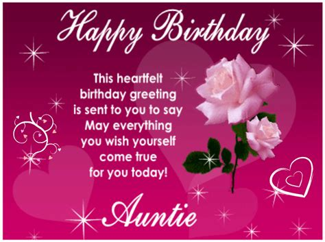 Quotes For Aunts Birthday Happy Birthday Aunt Greetings And Messages