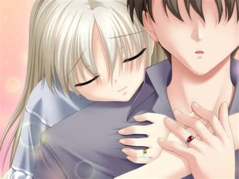 Anime Hug by Get Free Wallpapers March 2011
