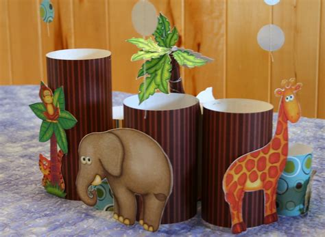 Safari Centerpieces For Baby Shower by Li L Buck S Creations Jungle Safari Baby Shower Decorations