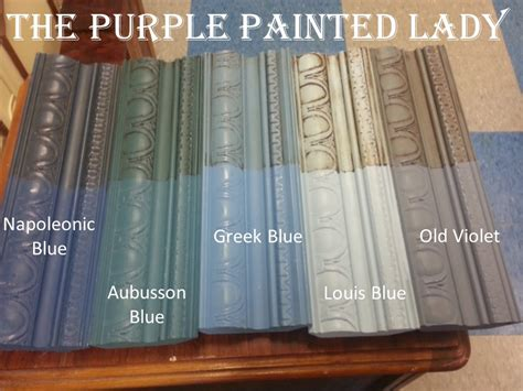 aubusson blue the purple painted