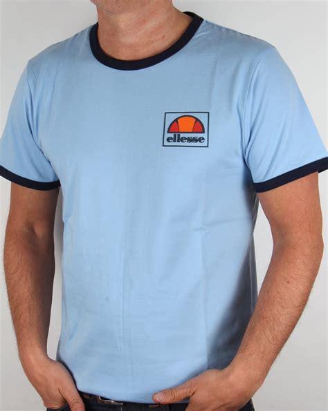 Tshirt Ellesse New One Tshirt ellesse montefello ringer t shirt sky blue mens heritage
