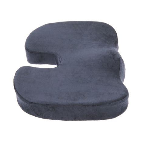 comfort seat cushion coccyx orthopedic comfort foam seat cushion dark blue
