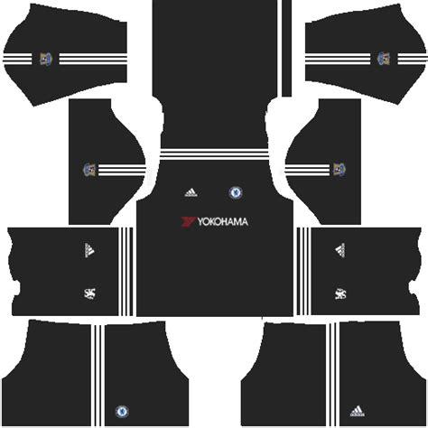 chelsea kit dream league kits uniformes para fts 15 y dream league soccer kits