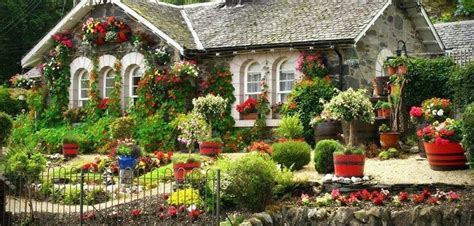 the flower cottage beautiful cottage flower garden interior decorating and