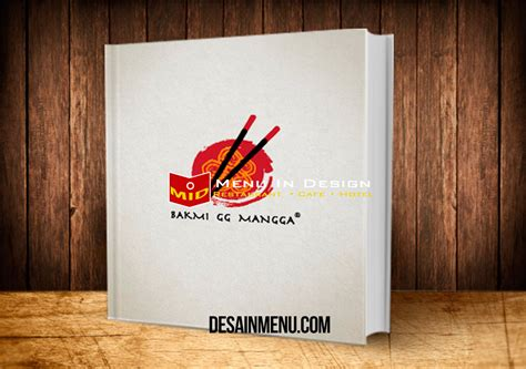 Buku Menu cetak buku menu