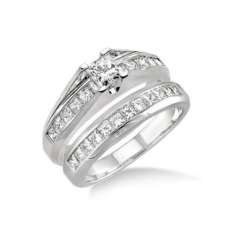 affordable wedding ring set on jewelocean