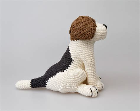 amigurumi pattern dog free azor the beagle dog amigurumi pattern stuff the body