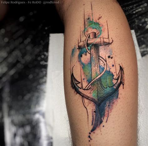 watercolor anchor tattoo 37 captivating anchor tattoos from the sea