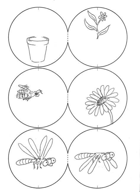 thaumatrope template printable 9 best images about taumatrops on sleepy