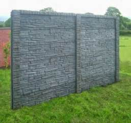 decorative garden fence panels and walls with