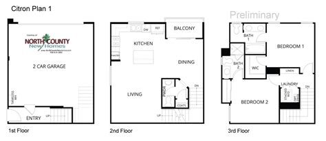 inland homes floor plans inland homes floor plans citron floor plans new townhomes