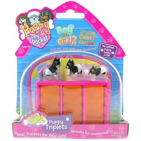 puppy in my pocket playsets so soft triplets from puppy in my pocket wwsm