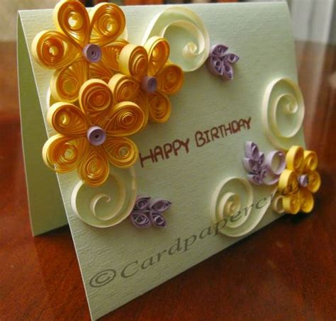Handmade Greetings For Birthday - handmade birthday cards weneedfun