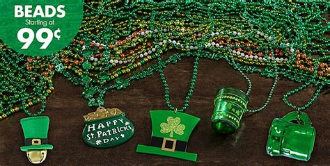 bead stores denver st s day green shamrock necklaces