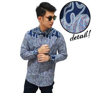 Kemeja Pria Lengan Pendek Model Fashion White Batik Shirt 829 5 fashion baju batik bergaya modern kemeja batik